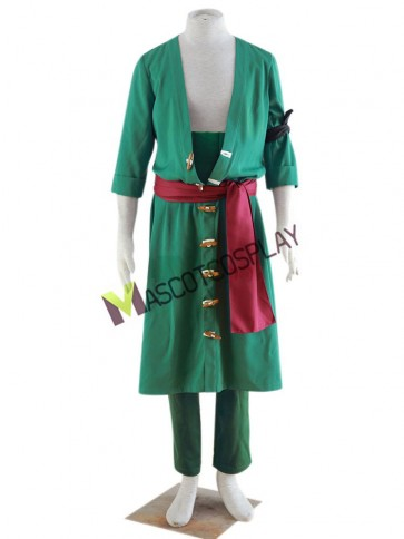 Roronoa Zoro One Piece Cosplay Costume Set