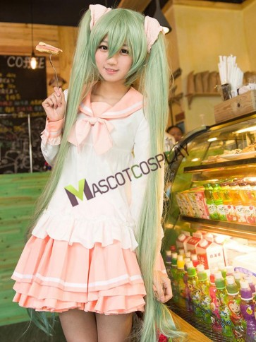 VOCALOID Hatsune Miku Lots of Laugh Cosplay Costume