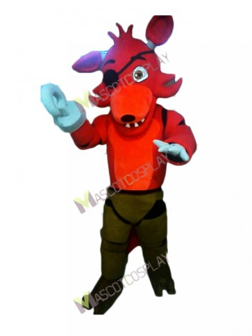 FNAF Five Nights At Freddy's Foxy Mascot Costume