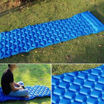 Hot Sale Inflatable Sleeping Bed Moistureproof Sleeping Pad With Pillow