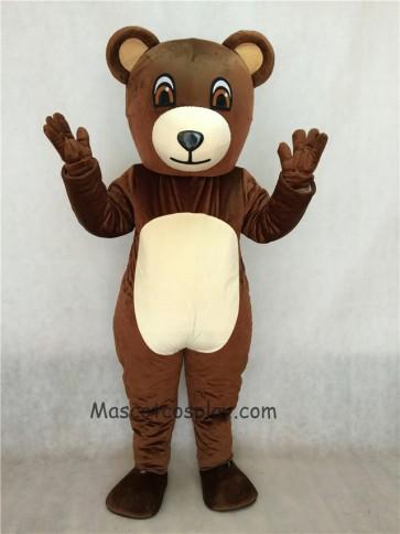 New Chocolate Bear Mascot Costume