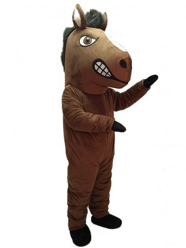 New Mustang Horse Mascot Costume
