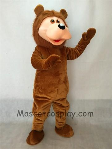 Brown Bear Adult Mascot Costume