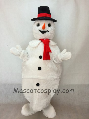 New Frosty Snowman Mascot Costume