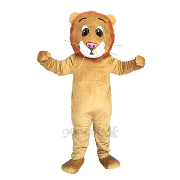 New Male Jr. Lion Costume Mascot