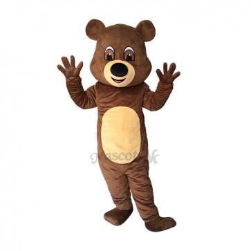 New Funny Brown Teddy Bear Mascot Costume