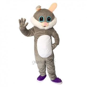 Easter Male Bunny Rabbit Plush Adult Mascot Costume