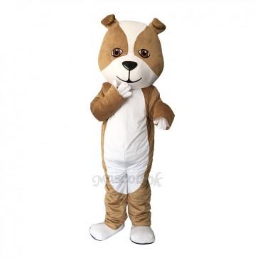New Strong Grey British Bulldog Mascot Costume