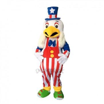 Funny American Eagle Mascot Adult Costume