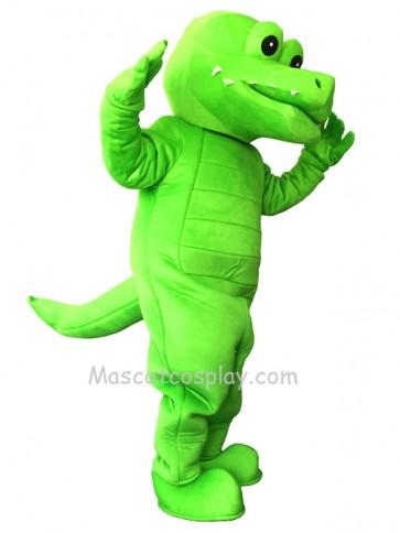 Green Firece Tuff Gator Mascot Costume