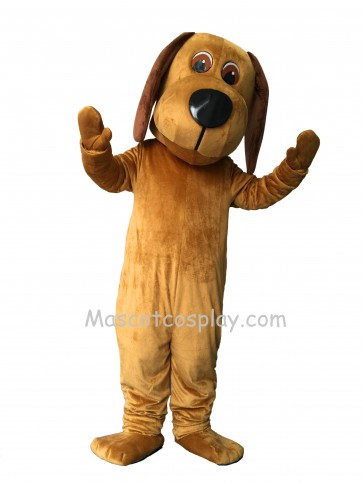 New Tan Long Ears Dog Mascot Costume