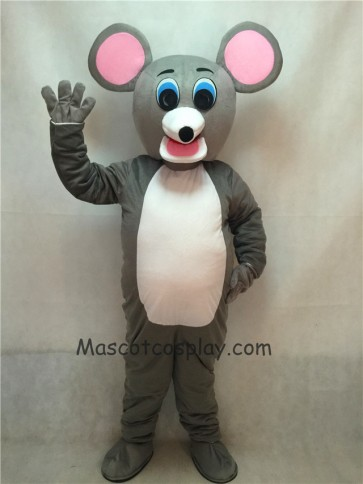 Mouse Adult Mascot Costume with Round Ears
