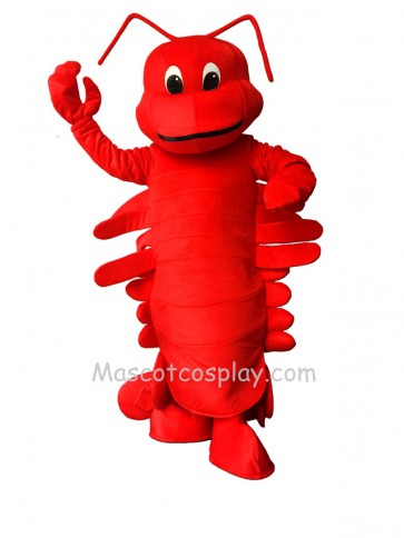 Red Cartoon Lobster Adult Funny Mascot Costume