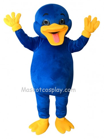 Cute Blue Platypus Mascot Costume