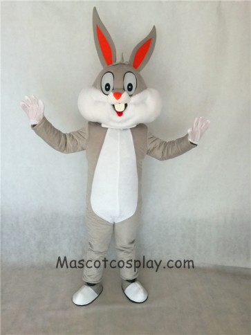 High Quality Bugs Bunny Rabbit Mascot Costume Adult Party Carnival Halloween Christmas