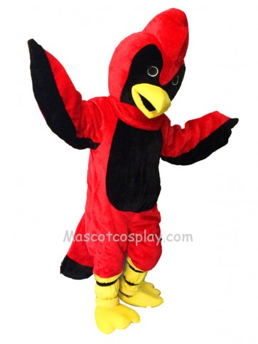 New Red Fierce Cardinal Mascot Costume