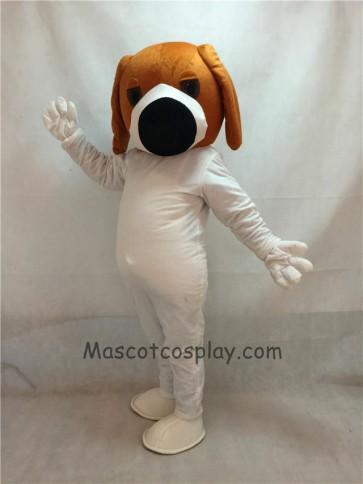 Dog With Big Black Nose Adult Mascot Costume