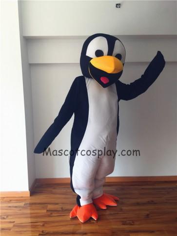 Cute Deluxe Penguin Mascot Costume