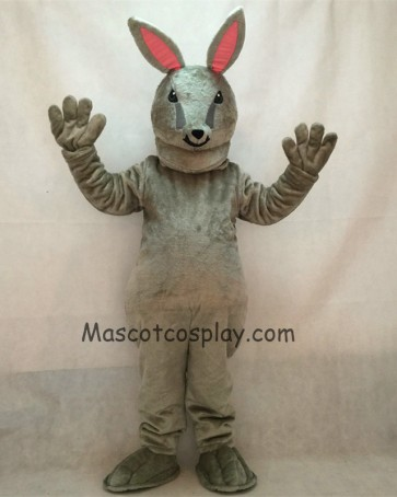 Jack Bunny Grey Rabbit Mascot Costume