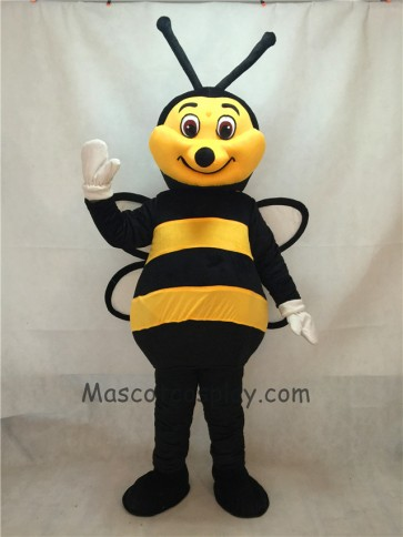 New Black and Yellow Bee Mascot Costume