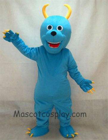 Blue Sulley Monsters Inc Adult Mascot Costume