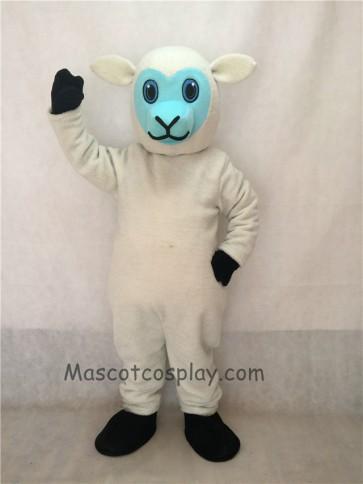 New White Lamb Mascot Costume