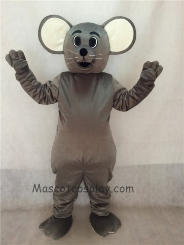 Grey Christopher Mouse Mascot Costume