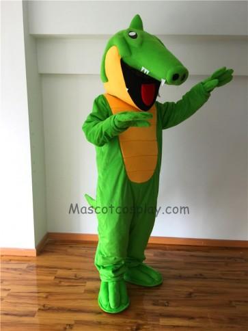 Cute Crunch Gator Mascot Costume