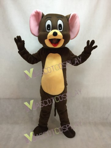 Jerry Rat Mascot Costume Tom and Jerry Mouse Mascot Costume
