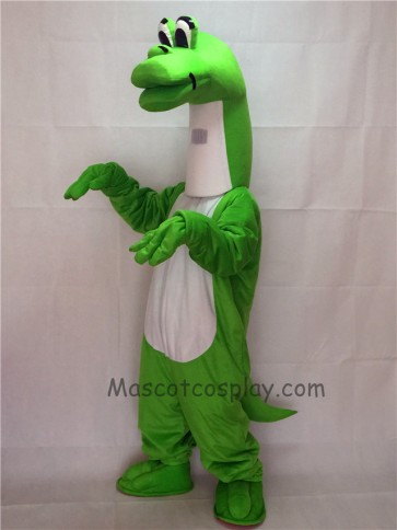 Cute New Cartoon Green Dinosaur Mascot Costume