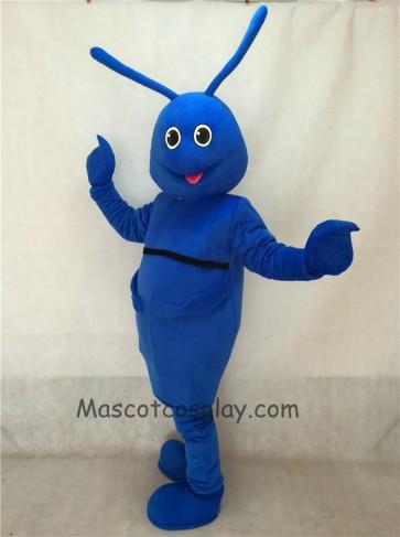 Blue Bug Mascot Costume