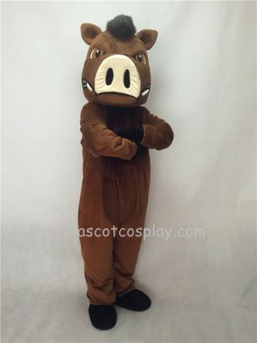 Fierce New Wild Boar Pig Hog Mascot Costume