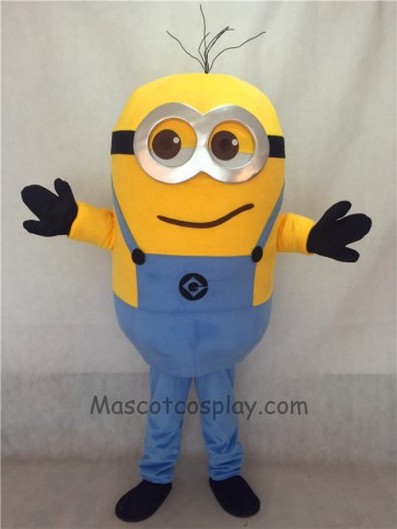 Despicable Me Chuckling Grinning Minions Mascot Costume Custom Cosplay