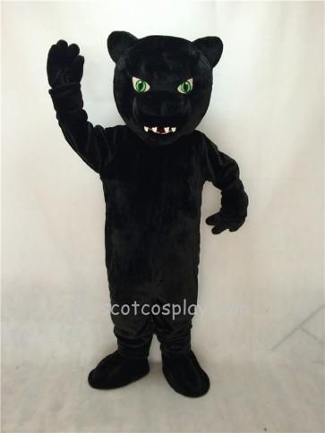 Fierce New Green Eyes Panther Mascot Costume
