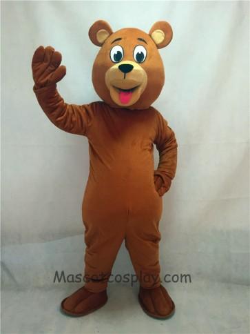 Lucky Brown Bear Mascot Costume