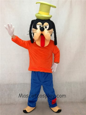 Goofy Dog Adult Mascot Costume