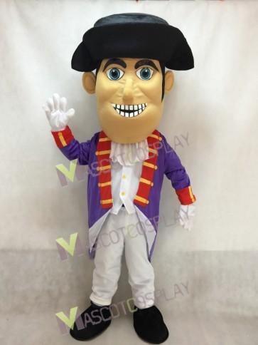 New Patriot Mascot Costume