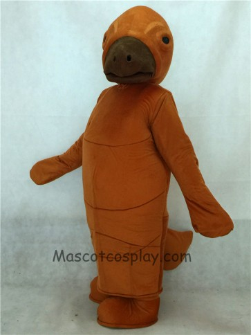 Brown Manny Manatee Mascot Costume