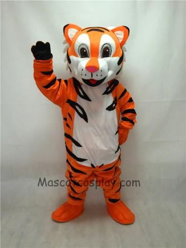 Cute New Cartoon Tiger Mascot Costume