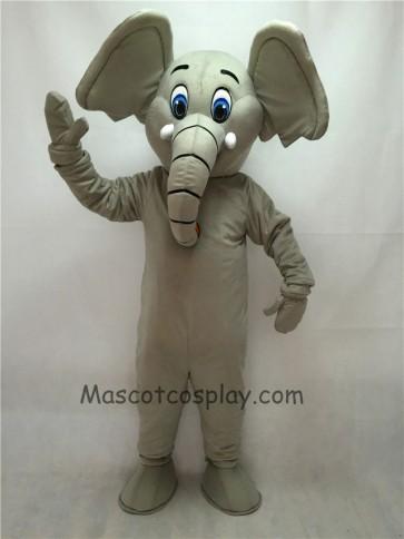 Cute Little Grey Elephant Mascot Costume
