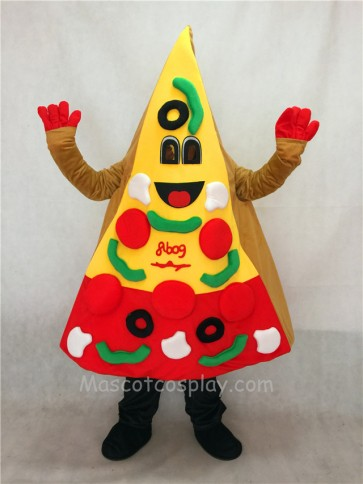 A Slice of Pizza Mascot Costume