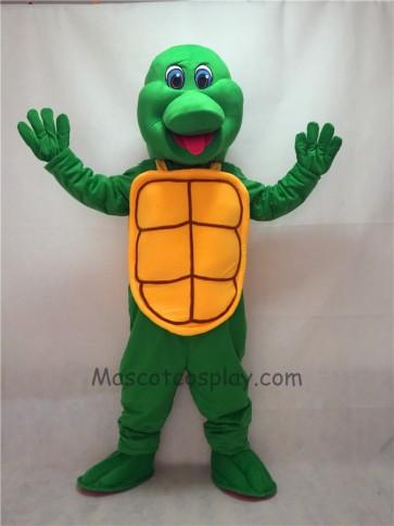 Cute New Green Turtle Mascot Costume