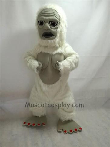 Fierce New Yeti Mascot Costume