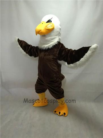 Fierce Brown Mr. Majestic Eagle Mascot Costume