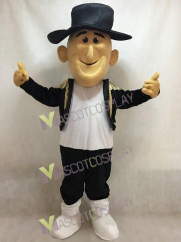Happy Matt Matador Mascot Costume