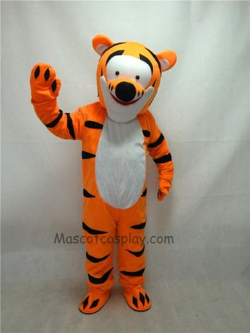 Cute Orange Tigger Cartoon Tiger Mascot Costume