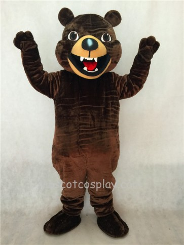 Kodiak Brown Bear Mascot Costume