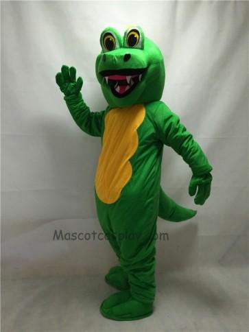 Fierce Adult Green Dragon Mascot Costume