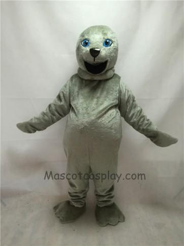 Cute New Grey Seal Mascot Costume