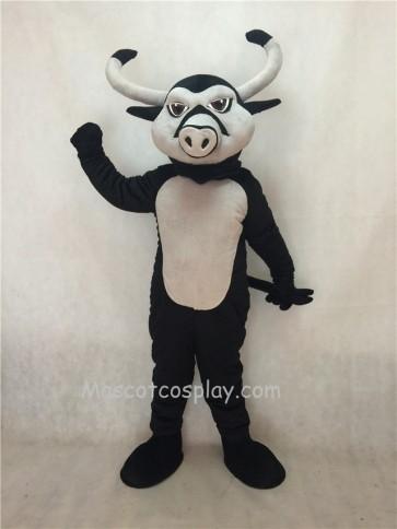 Black Longhorn Mascot Costume